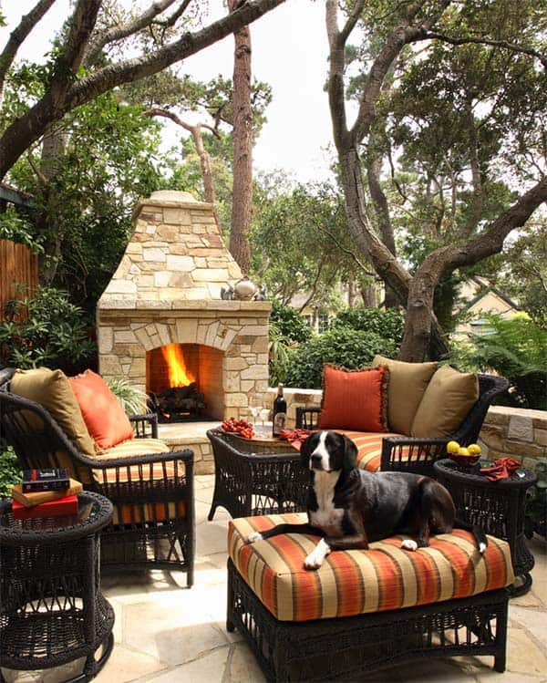 Outdoor Fireplace Designs-06-1 Kindesign