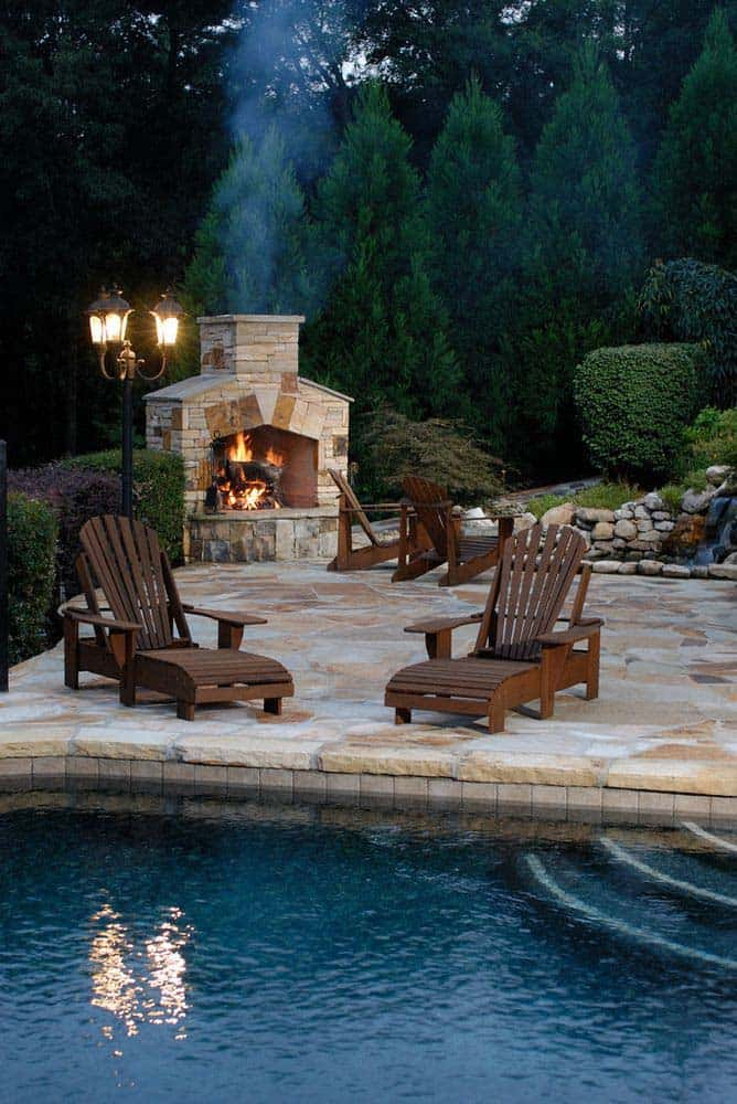 Outdoor Fireplace Designs-09-1 Kindesign