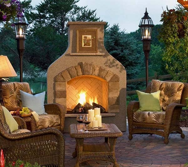 Outdoor Fireplace Designs-20-1 Kindesign