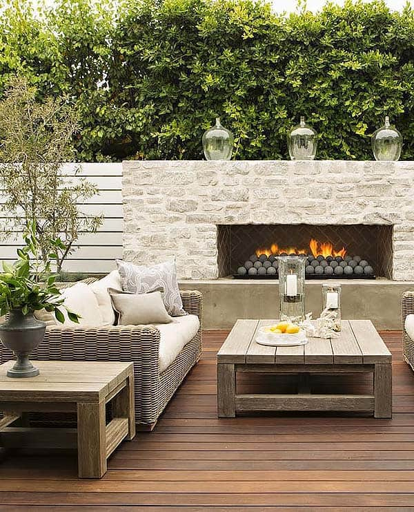 Good Outdoor Fireplace Designs 23 1 Kindesign