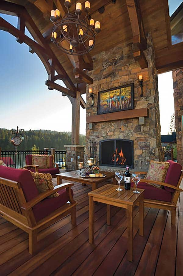 53 Most amazing outdoor fireplace designs ever on Amazing Outdoor Fireplaces id=98399