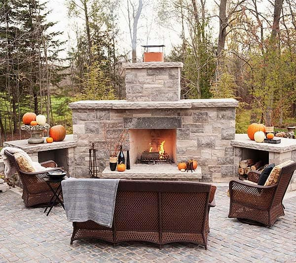 Outdoor Fireplace Designs 34 1 Kindesign