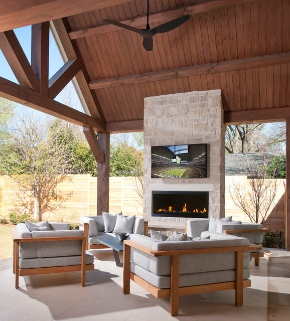 53 Most amazing outdoor fireplace designs ever on Amazing Outdoor Fireplaces id=31277