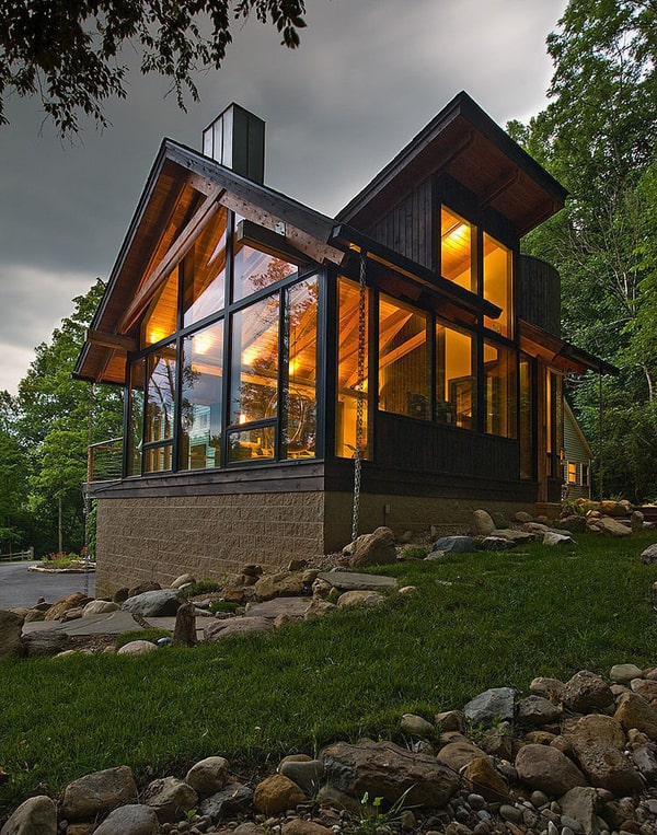 featured posts image for Stunning riverside house renovation in the Chagrin Valley