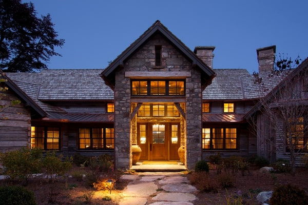 featured posts image for Elegant rustic retreat in the Blue Ridge Mountains