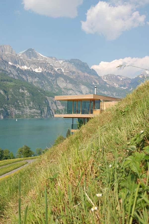 Wohnhaus am Walensee-K M Architektur-06-1 Kindesign