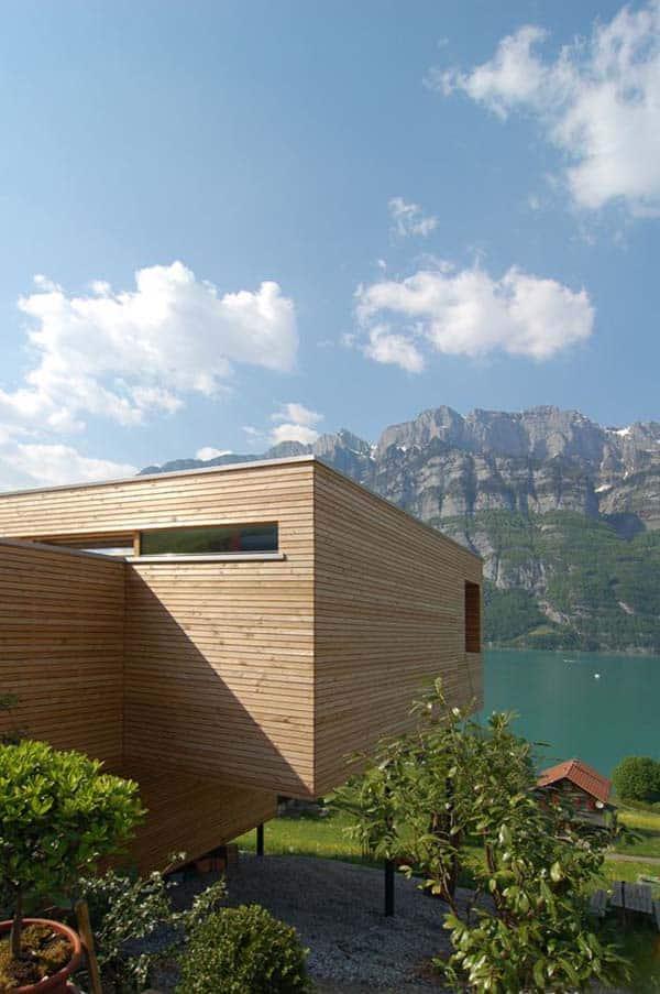 Wohnhaus am Walensee-K M Architektur-11-1 Kindesign