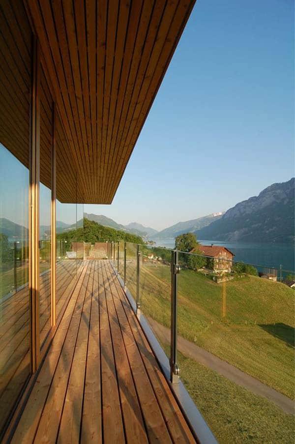 Wohnhaus am Walensee-K M Architektur-15-1 Kindesign