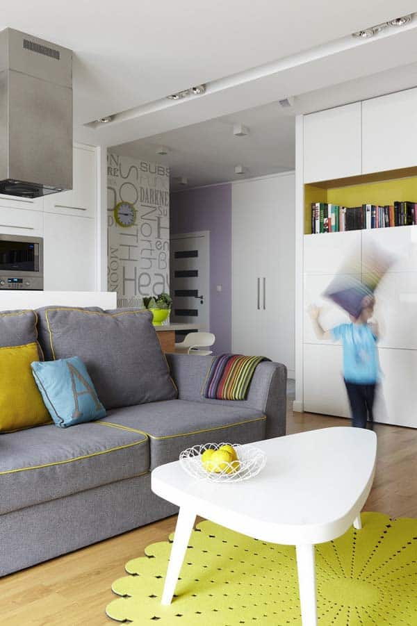35 best apartment designs featured on 1 kindesign for 2105 - Interior design onsquare meters solutions from taiwan ...
