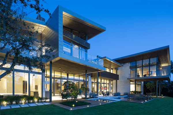 featured posts image for Mammoth contemporary residence in Florida: Ballantrae Court