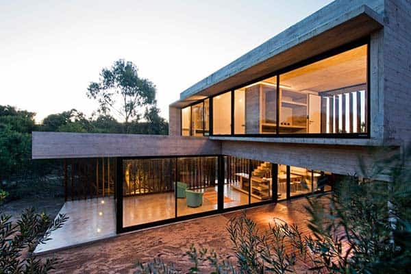 featured posts image for Concrete holiday pad in Argentina: Casa MR by Luciano Kruk