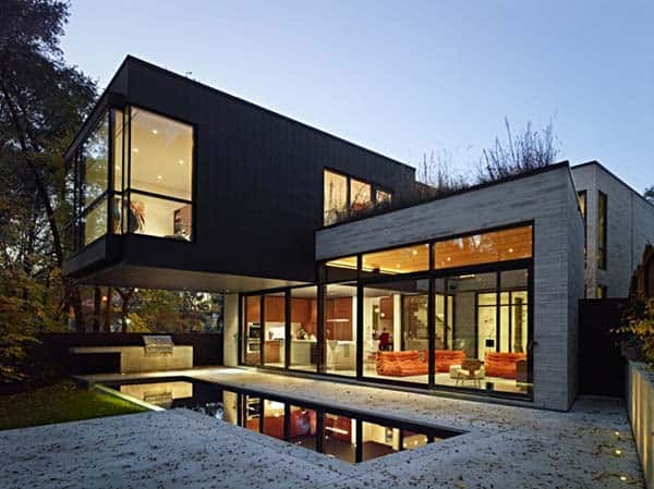 featured posts image for Residential urban infill project in Toronto: Cedarvale Ravine House