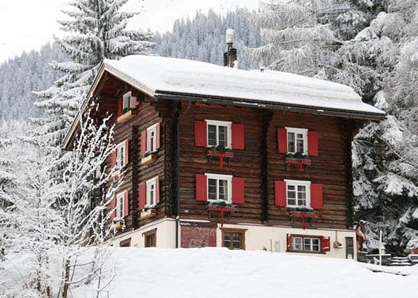 featured posts image for Luxurious log cabin ski chalet in Switzerland: Chalet Bear