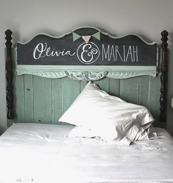 Chalkboard Headboard Ideas-11-1 Kindesign