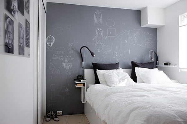 Chalkboard Headboard Ideas-13-1 Kindesign