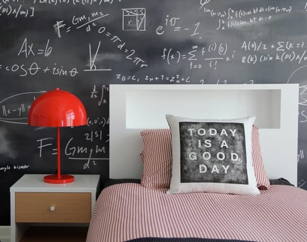 Chalkboard Headboard Ideas-14-1 Kindesign