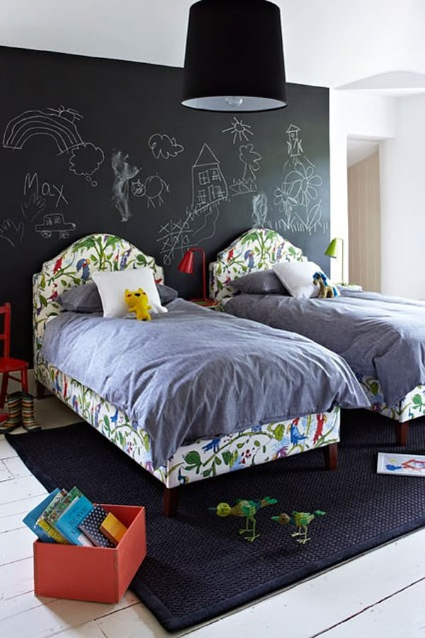 Chalkboard Headboard Ideas-23-1 Kindesign