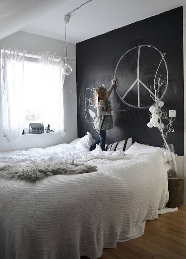 Chalkboard Headboard Ideas-25-1 Kindesign