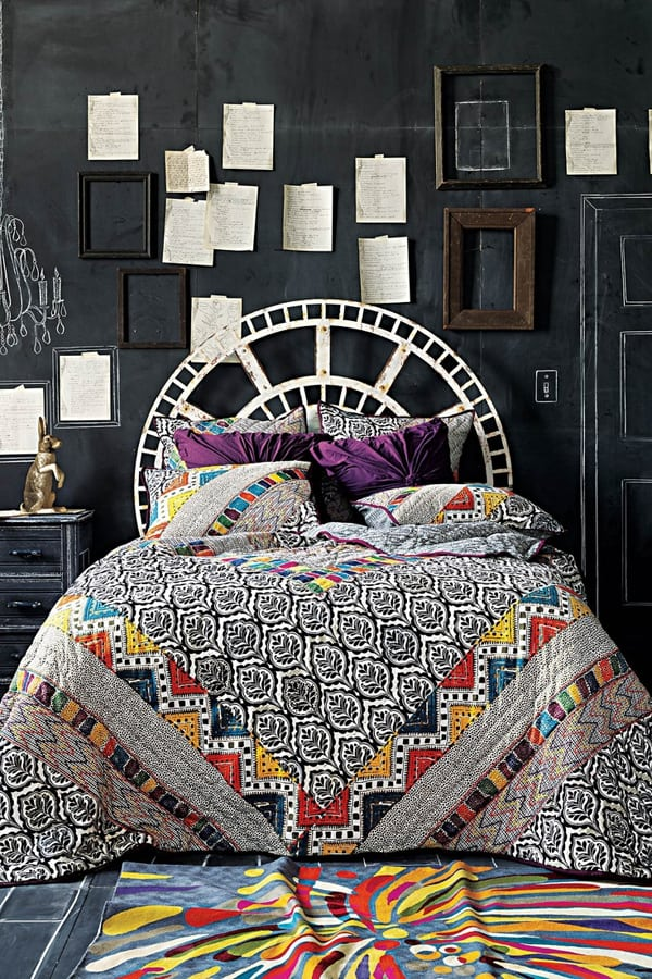 Chalkboard Headboard Ideas-26-1 Kindesign