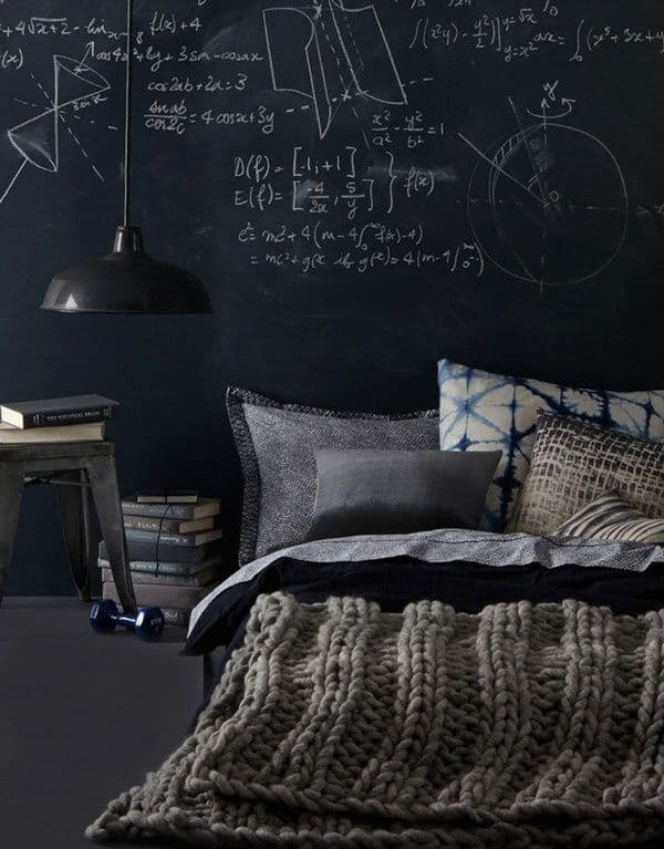 Chalkboard Headboard Ideas-27-1 Kindesign