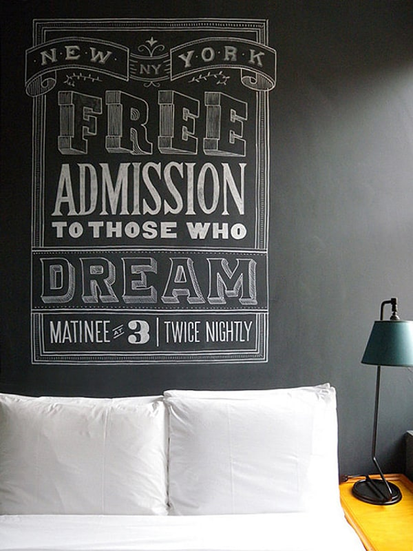 Chalkboard Headboard Ideas-29-1 Kindesign