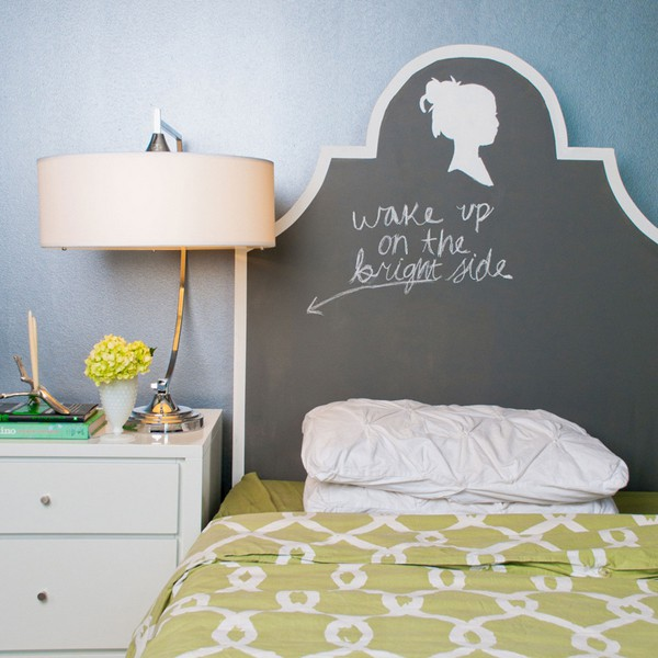 Chalkboard Headboard Ideas-31-1 Kindesign