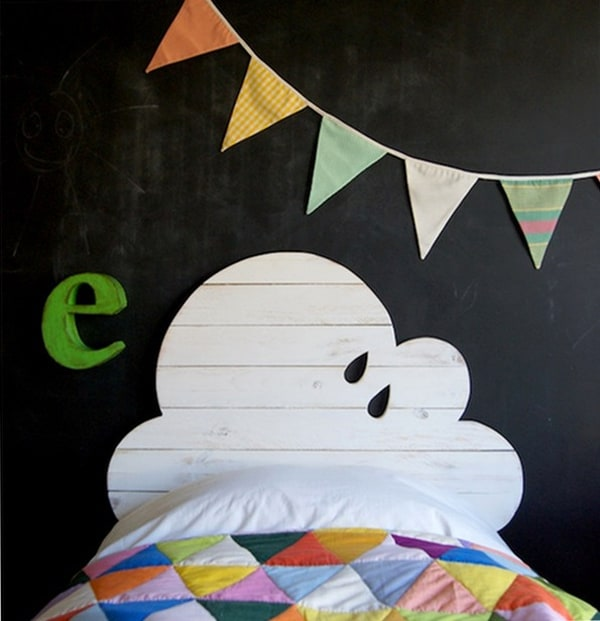 Chalkboard Headboard Ideas-32-1 Kindesign
