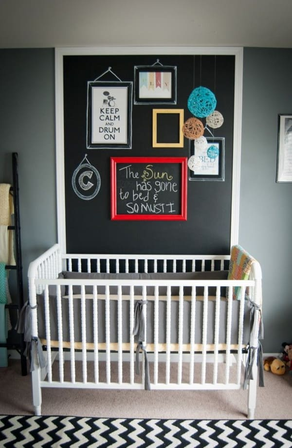 Chalkboard Headboard Ideas-35-1 Kindesign