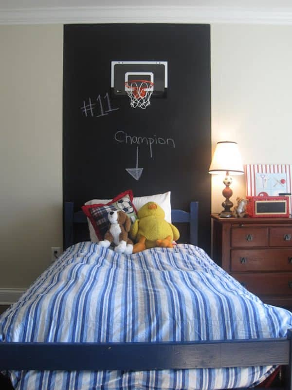 Chalkboard Headboard Ideas-36-1 Kindesign