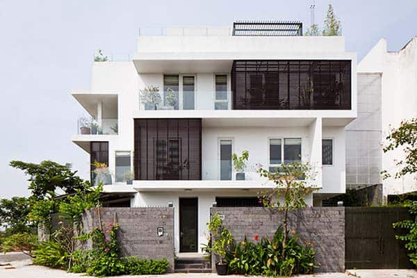 featured posts image for Visually appealing D2 Town House in Ho Chi Minh City