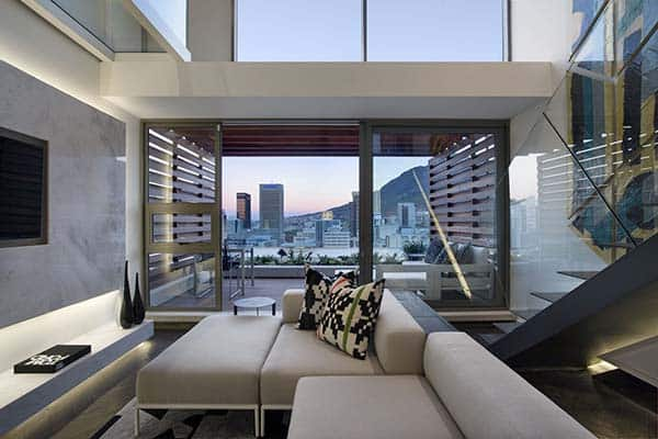 featured posts image for De Waterkant modern duplex apartment in Cape Town by SAOTA