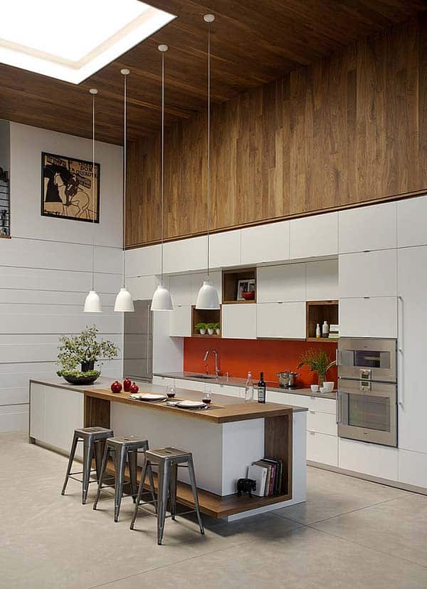 featured posts image for Modern family loft in Massachusetts by ZeroEnergy Design