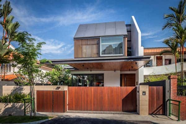 featured posts image for Far Sight House in Singapore by Wallflower Architecture + Design