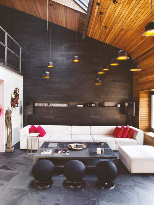 featured posts image for Modern industrial bachelor pad infused with warmth in Istanbul