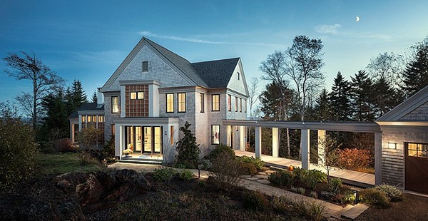 featured posts image for Charming modern Danish home in Maine: Mountain Escape