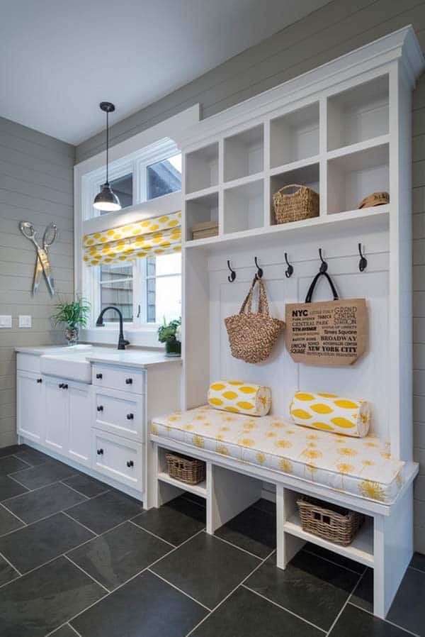 Elegant Mudroom Entry Design Ideas 02 1 Kindesign Part 27