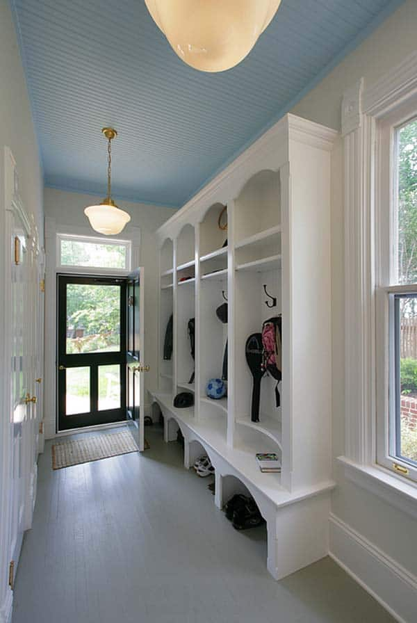 55 absolutely fabulous mudroom entry design ideas for Breezeway flooring ideas