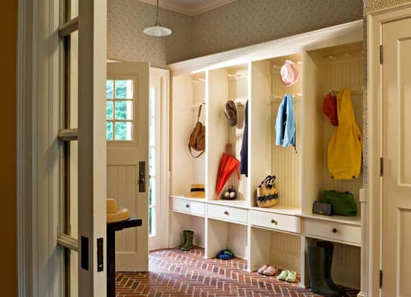 Mudroom Entry Design Ideas-43-1 Kindesign