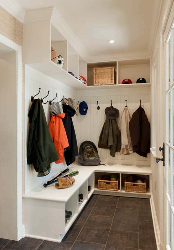 Entry Room Design: 55 Absolutely Fabulous Mudroom Entry Design Ideas