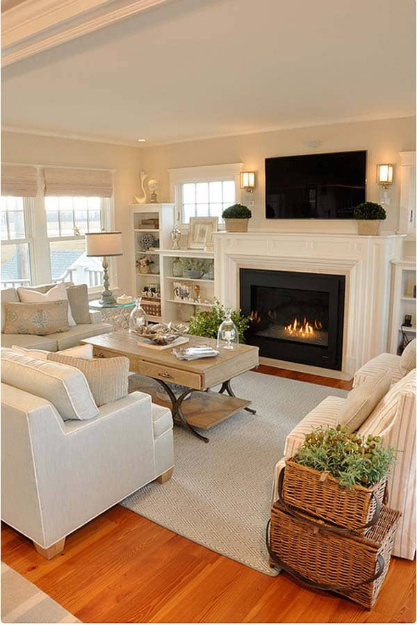 35 super stylish and inspiring neutral living room designs - Neutral Living Room