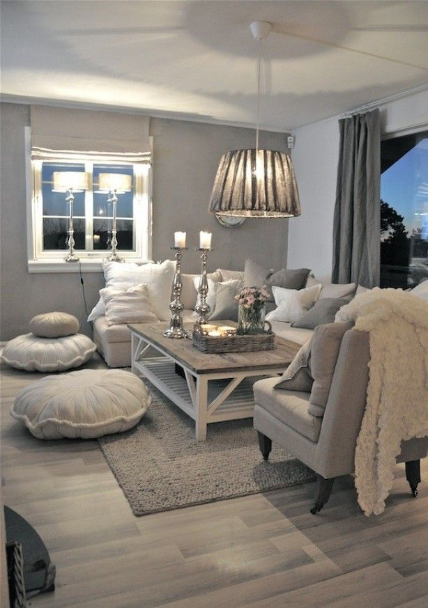 Neutral Living Room Designs-03-1 Kindesign
