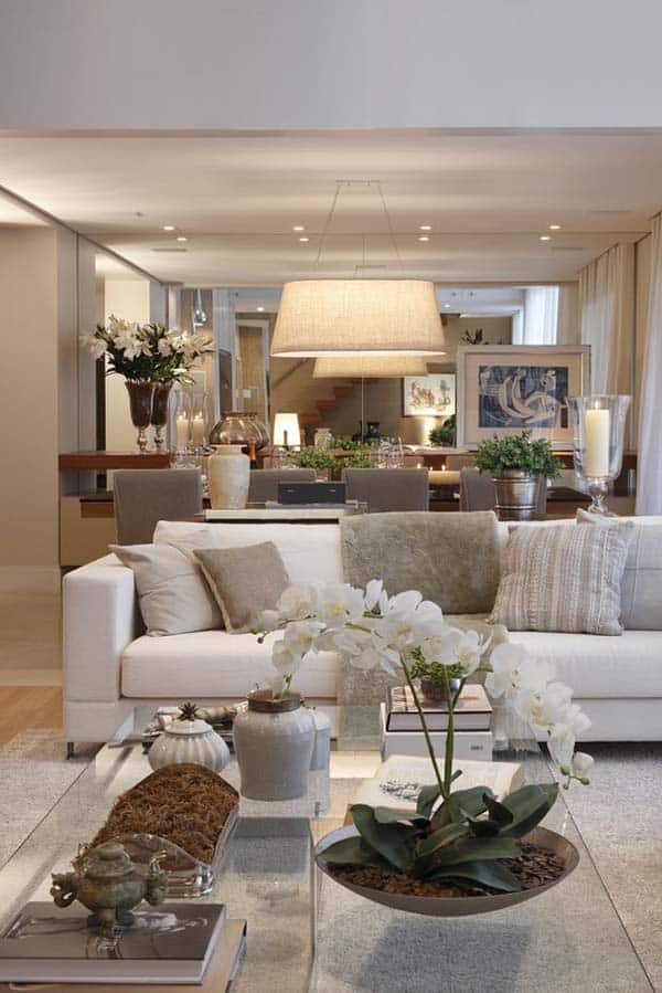 neutral living room designs 24 1 kindesign - Neutral Living Room