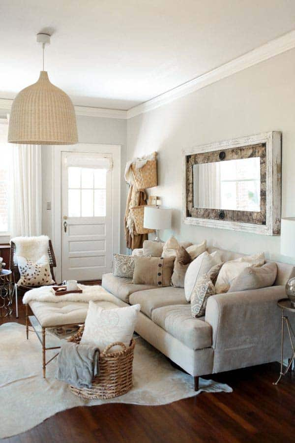 35 super stylish and inspiring neutral living room designs for Warm neutral living room