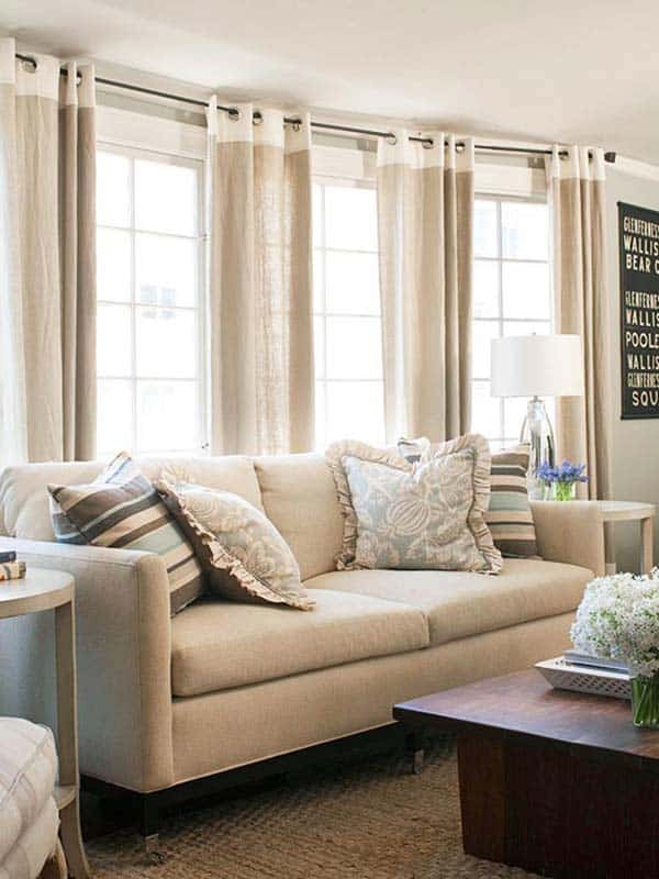 Neutral Living Room Designs-30-1 Kindesign