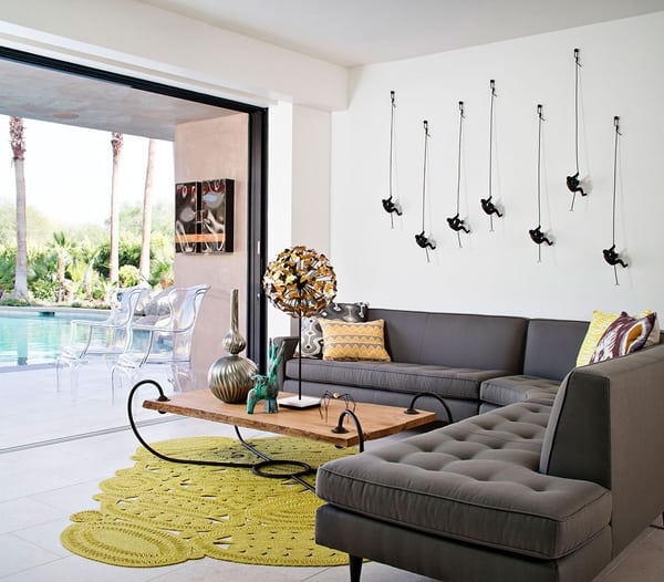 featured posts image for Bright and Colorful Palm Springs Residence by Shiny Bones