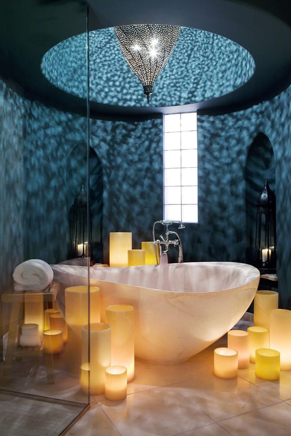 featured posts image for 43 Most fabulous mood-setting romantic bathrooms ever