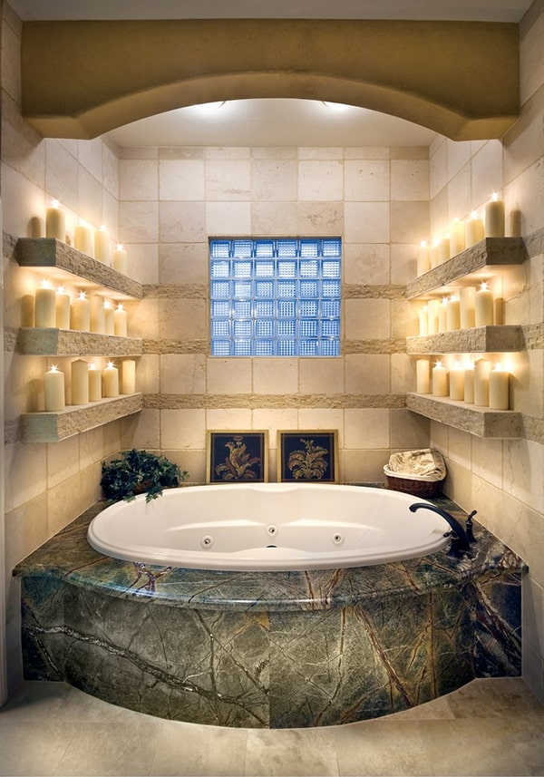 romantic bathroom decorating ideas 43 most fabulous mood setting romantic bathrooms ever 7975