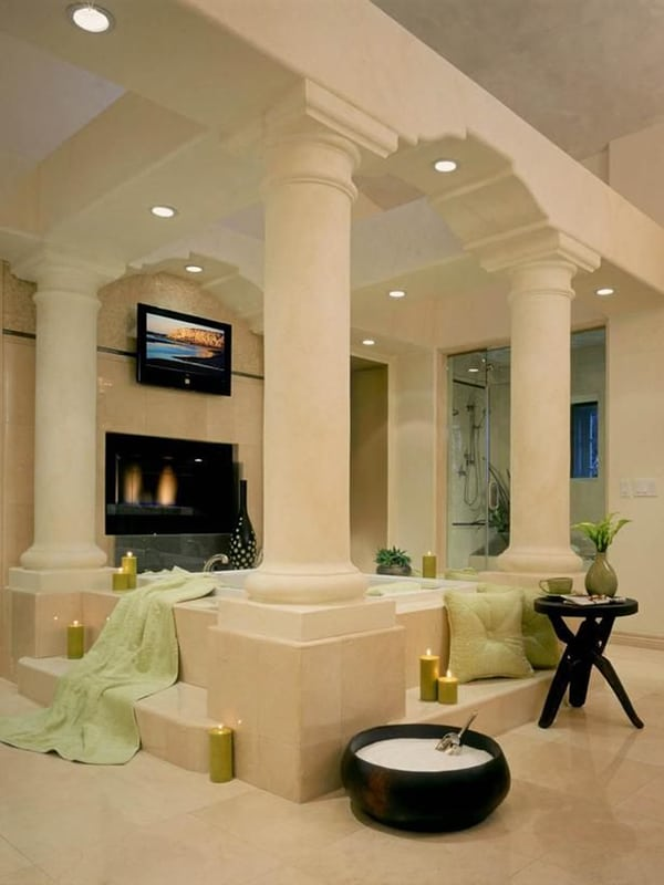 43 most fabulous moodsetting romantic bathrooms ever