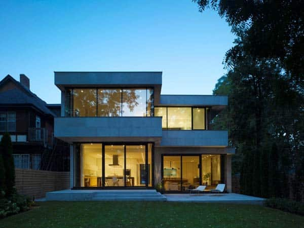 featured posts image for Spacious contemporary residence in Toronto: Stone House
