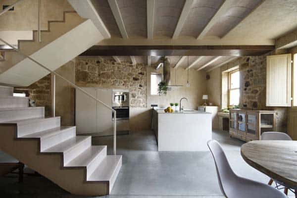 featured posts image for Beautiful stone house rehabilitation in Spain by Dom Arquitectura